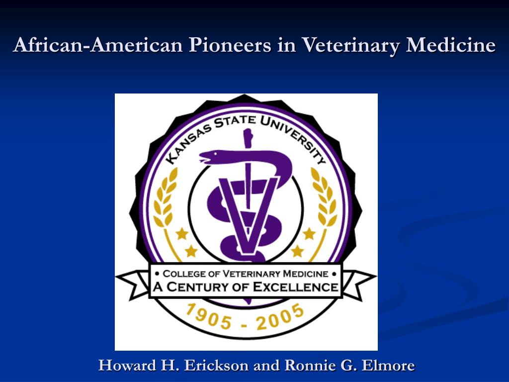 african american pioneers in veterinary medicine l.