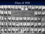 class of 1935