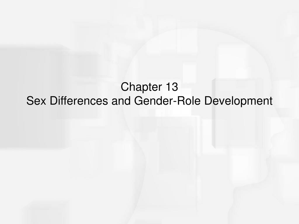 chapter 13 sex differences and gender role development l.