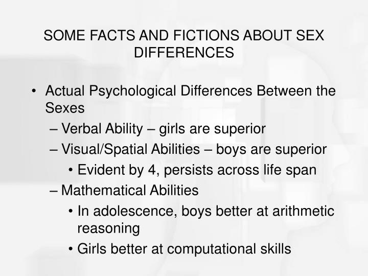 Spatial ability and sex differences