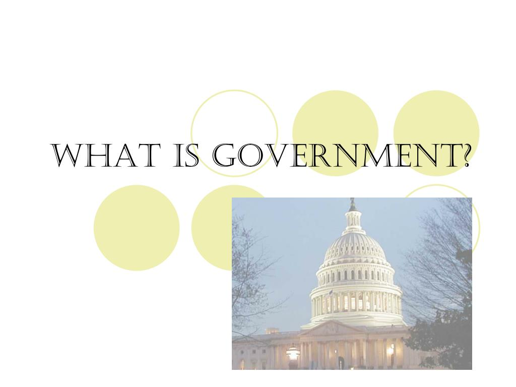 what is government l.