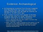 evidence archaeological25