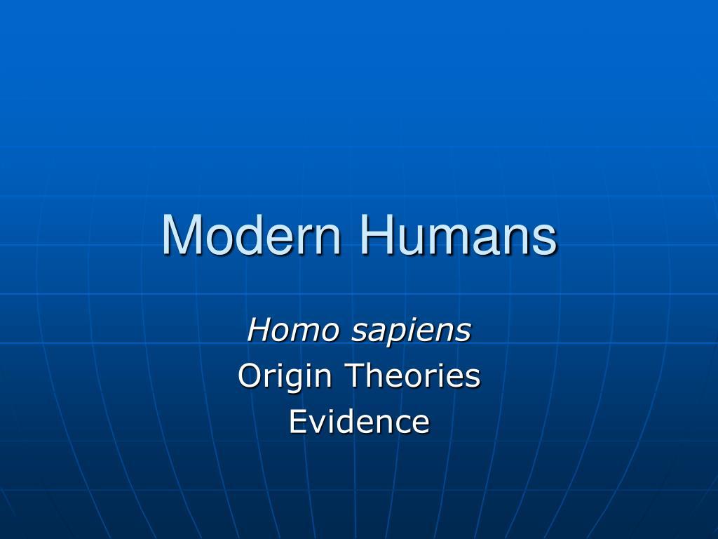 modern humans l.