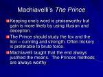 machiavelli s the prince44