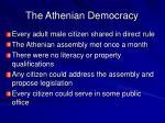 the athenian democracy