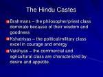 the hindu castes7