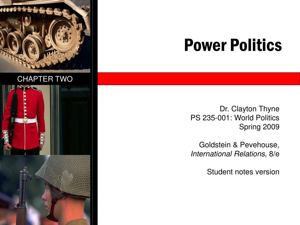 power politics l.