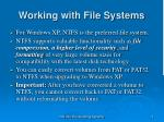 working with file systems5