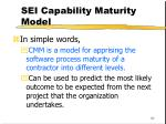 sei capability maturity model82