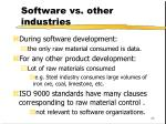 software vs other industries43