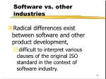 software vs other industries44