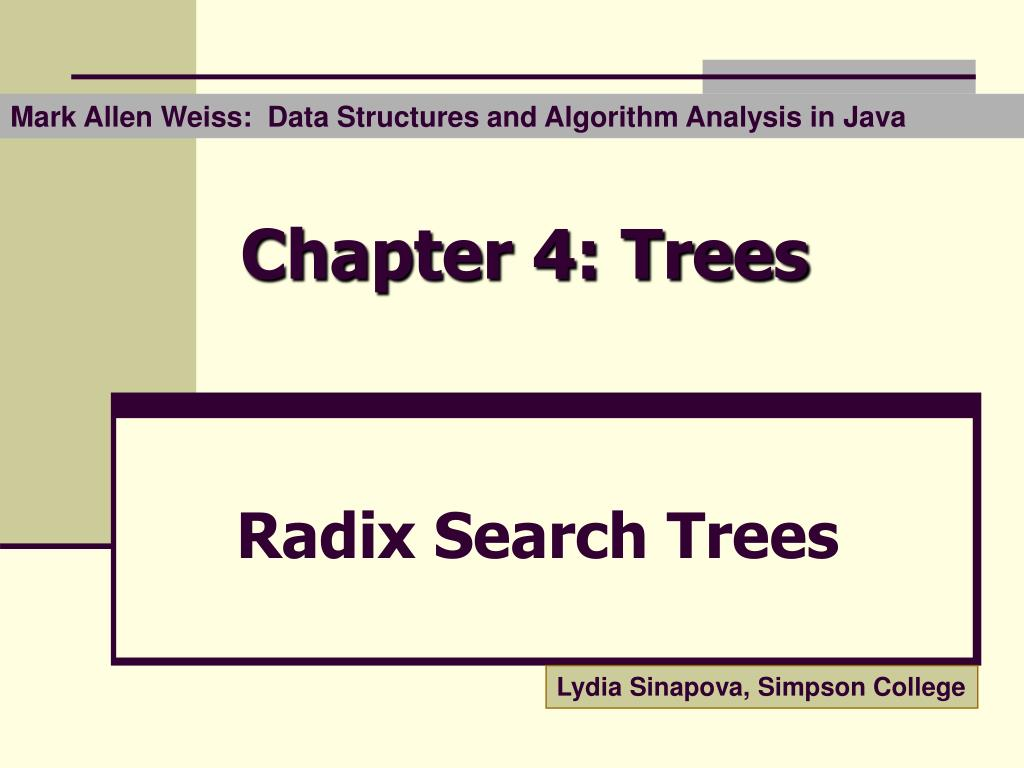 chapter 4 trees l.