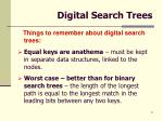 digital search trees9