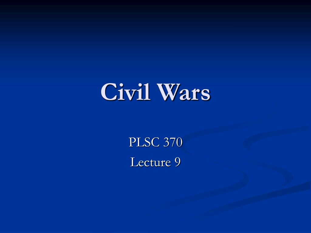 civil wars l.