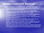 opioid treatment services19