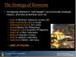 the strategy of terrorism