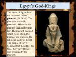 egypt s god kings