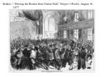 strikes driving the rioters from turner hall harper s weekly august 18 1877