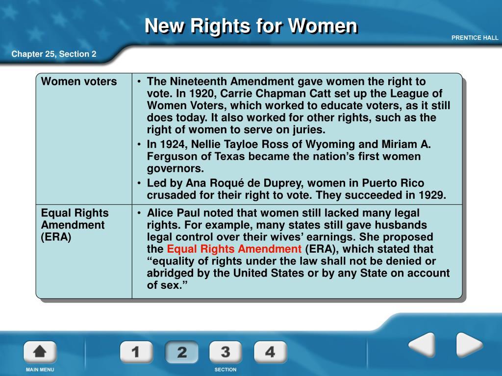 Women voters
