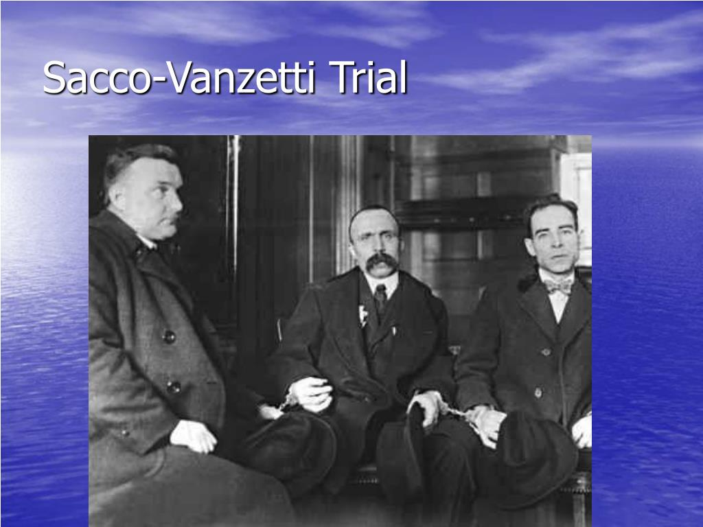 Sacco-Vanzetti Trial