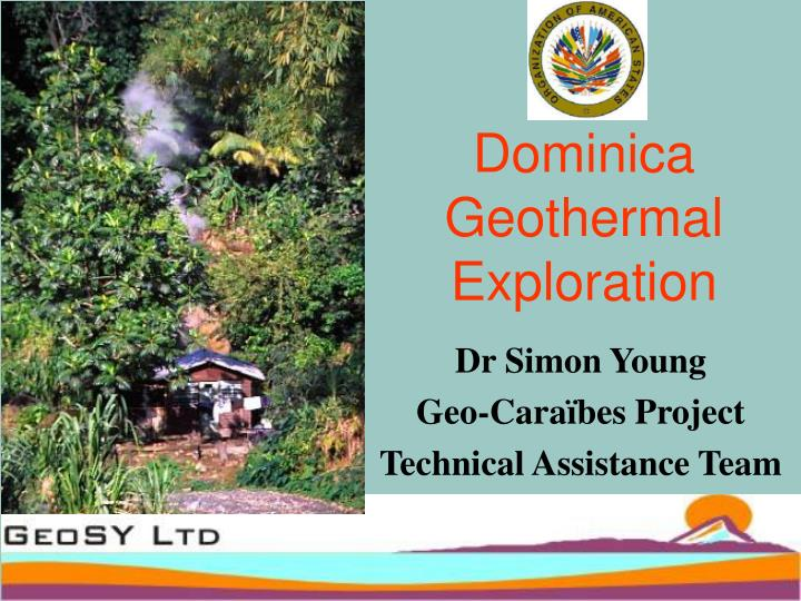 Dominica geothermal exploration