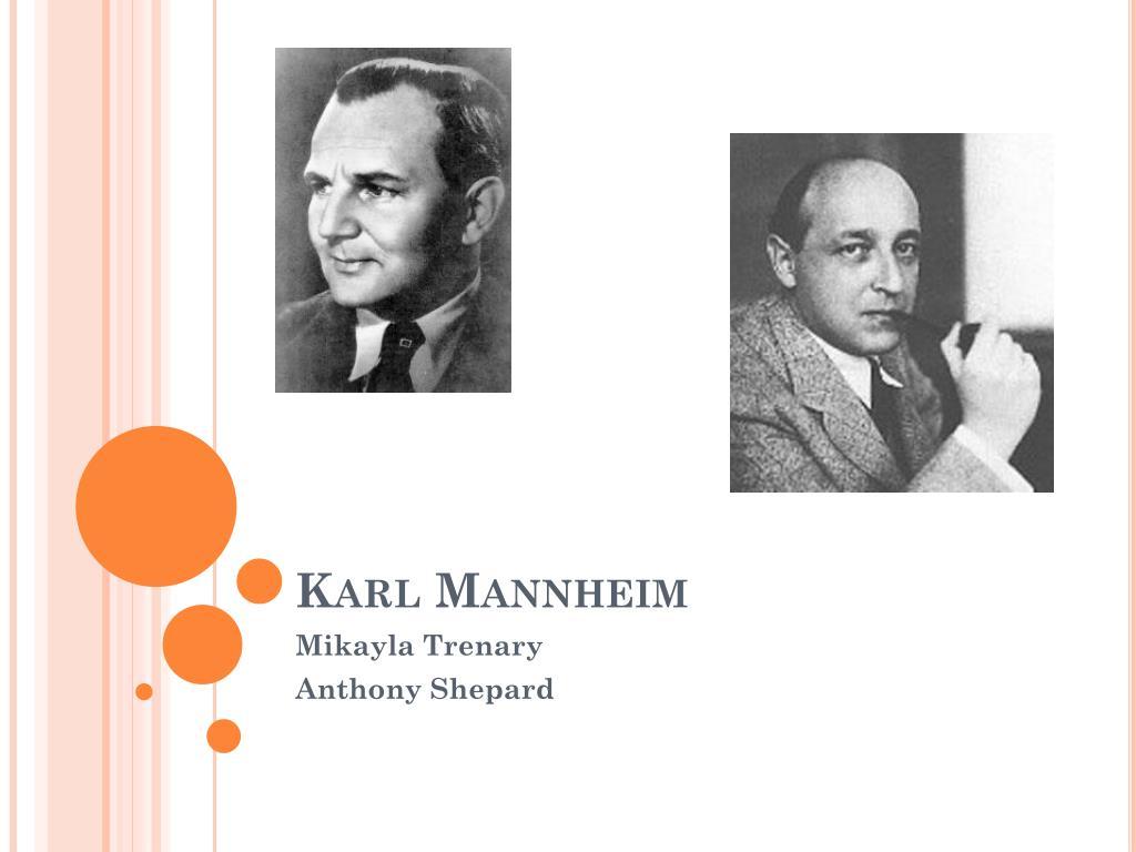 karl mannheim l.