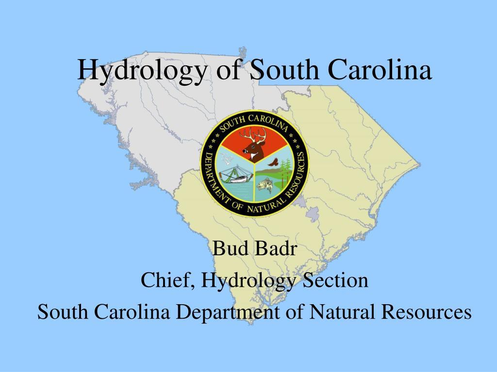 hydrology of south carolina l.