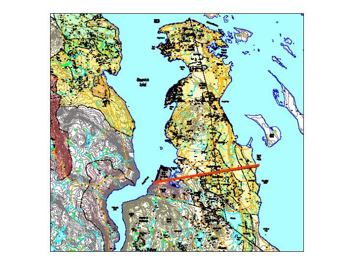 Bedrock aquifers of the saanich victoria area