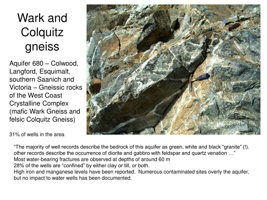 Wark and Colquitz gneiss