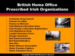 british home office proscribed irish organizations
