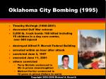 oklahoma city bombing 1995