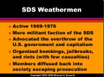 sds weathermen