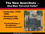 the new anarchists one man terrorist cells