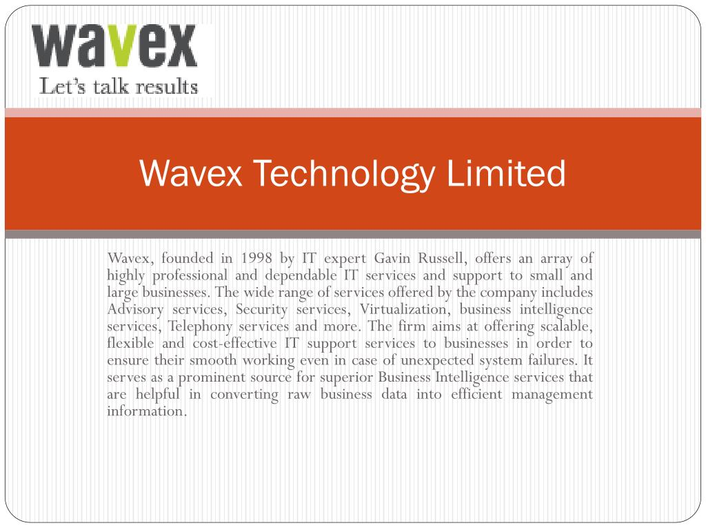 wavex technology limited l.