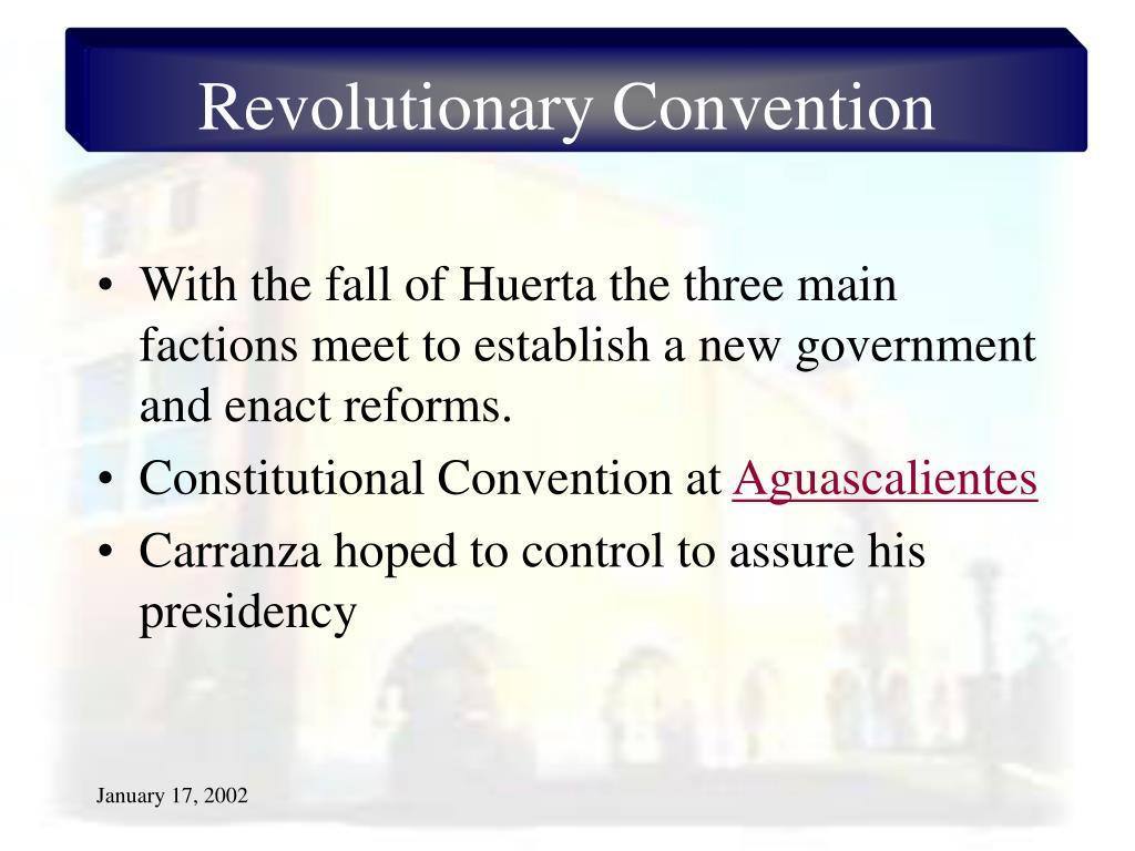 Revolutionary Convention