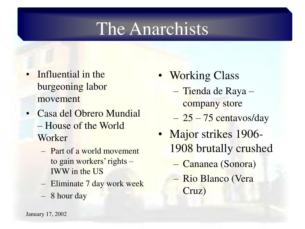 Influential in the burgeoning labor movement