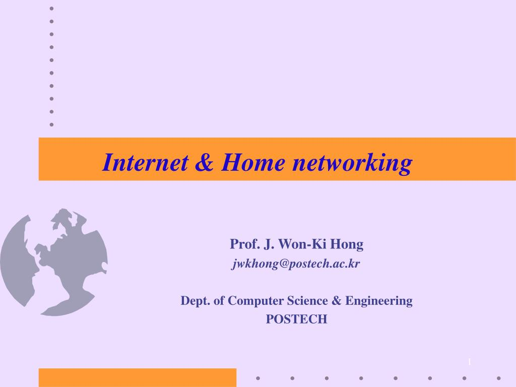 internet home networking l.