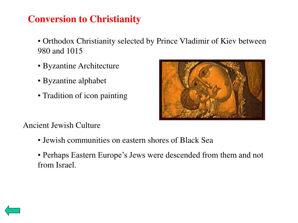 Conversion to Christianity