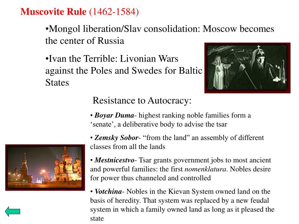 Muscovite Rule