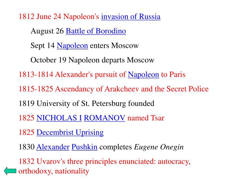 1812 June 24 Napoleon's