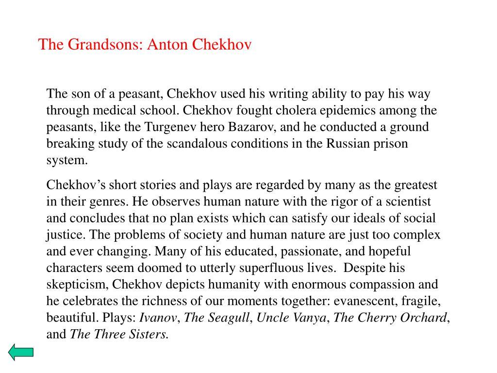 The Grandsons: Anton Chekhov