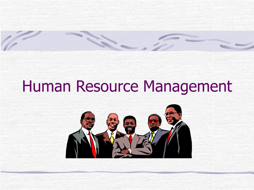 human resource management l.