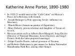 katherine anne porter 1890 198043