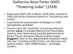 katherine anne porter kap flowering judas 1928