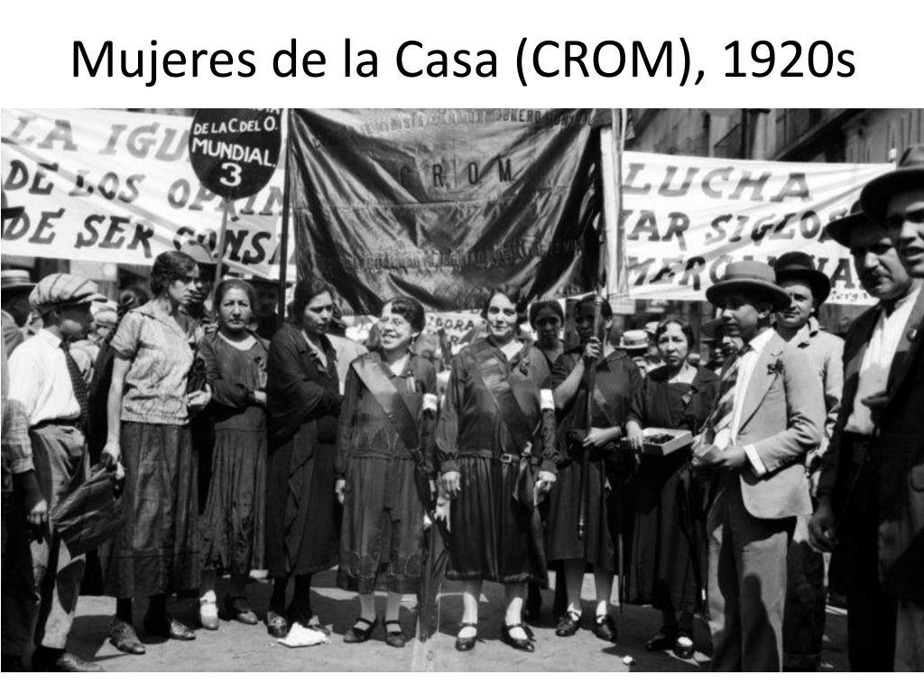 Mujeres de la Casa (CROM), 1920s