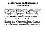 background on nicaraguan revolution