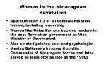women in the nicaraguan revolution