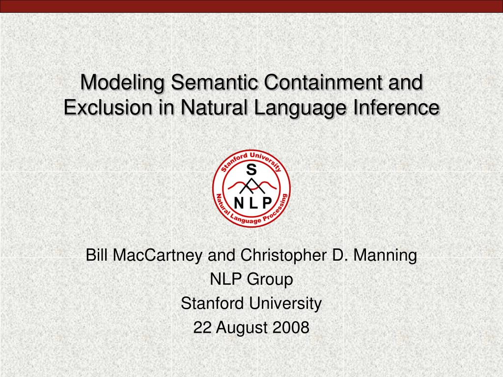modeling semantic containment and exclusion in natural language inference l.