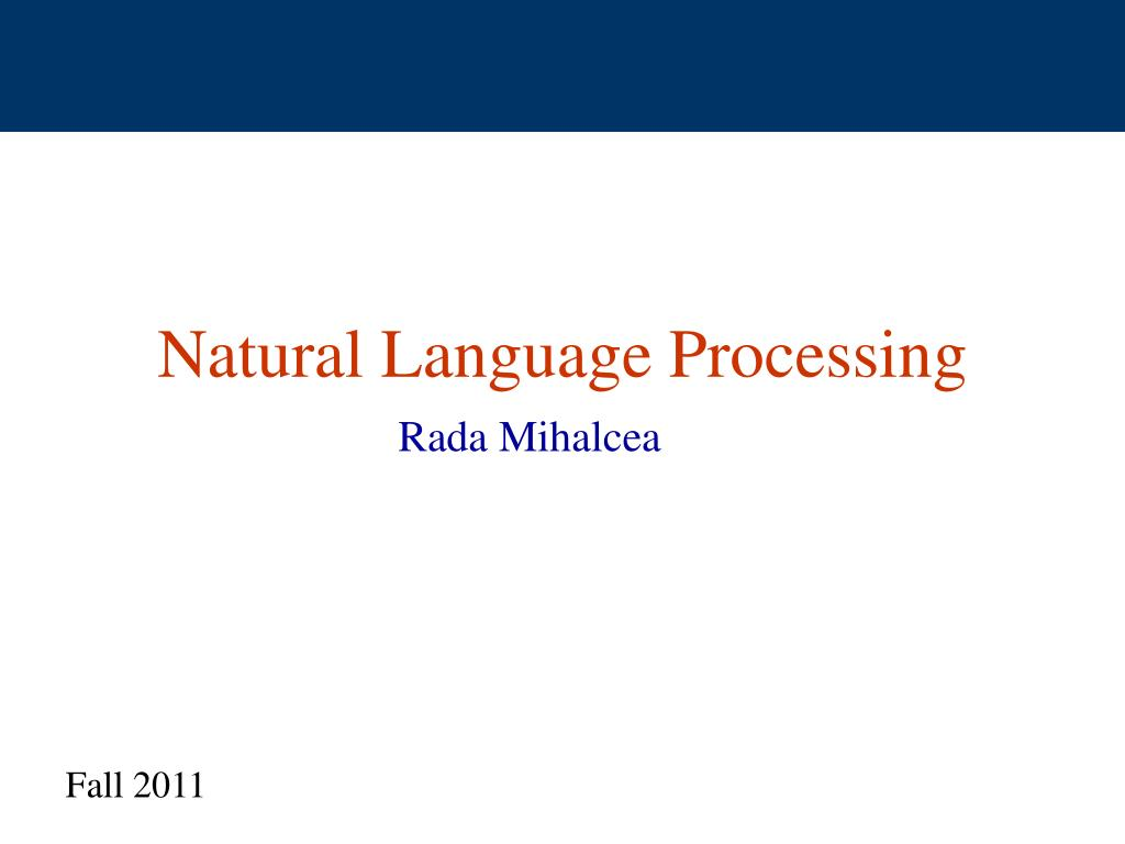natural language processing l.
