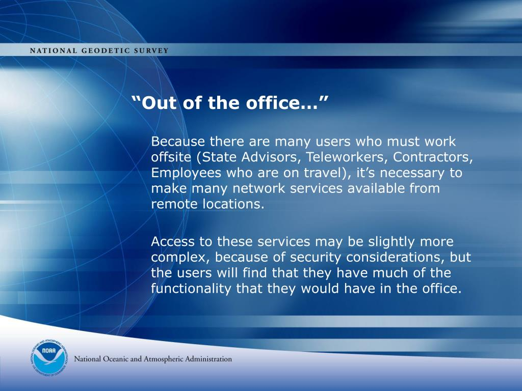 """""""Out of the office…"""""""